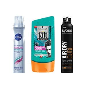 Hair Styling - Fixativ, Gel si Spuma de par