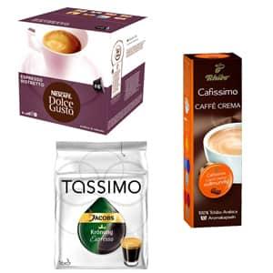 Cafea, Capsule, Ceai