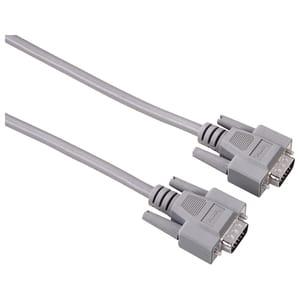 Cablu VGA HAMA 42092, 5m, gri
