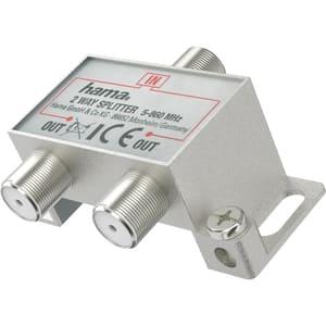 Splitter CATV HAMA 205230, 2 iesiri