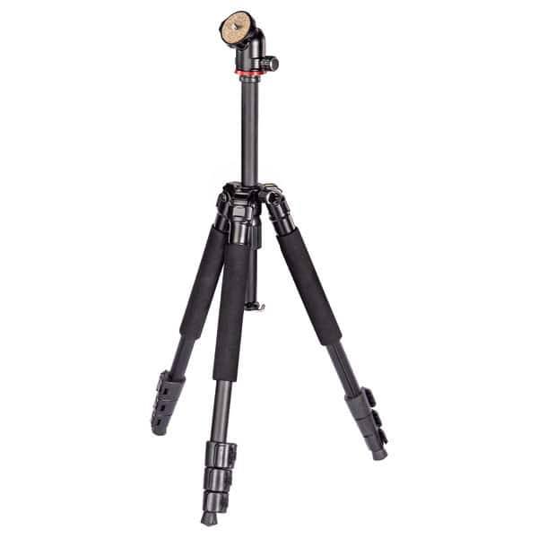 Trepied foto-video HAMA Traveller 117 Ball, 117 cm, negru