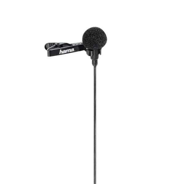 Microfon lavaliera HAMA LM-09, negru