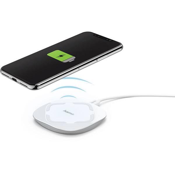 Incarcator wireless HAMA QI-FC 5, universal, QI, alb