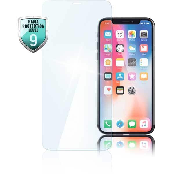Folie pentru Apple iPhone Xs, HAMA 183452, display, transparent