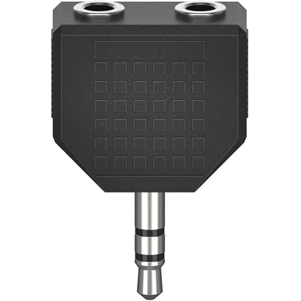 Adaptor audio Jack 3.5mm HAMA 205191, negru