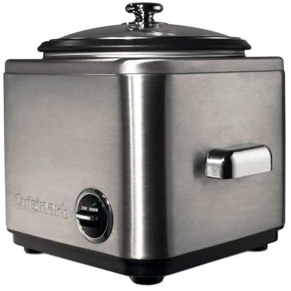 Oala electrica pentru orez CUISINART CRC400E, 6 portii, 0.7l, 500W, inox