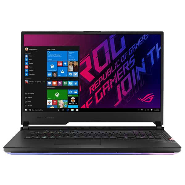"Laptop Gaming ASUS ROG Strix Scar 17 G732LWS-HG047T, Intel Core i7-10875H pana la 5.1GHz, 17.3"" Full HD, 16GB, SSD 1TB, NVIDIA GeForce RTX 2070 Super 8GB, Free DOS, negru"