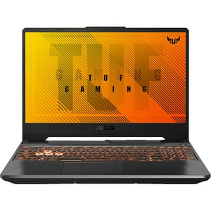 "Laptop Gaming ASUS TUF A15 FA506IU-HN210, AMD Ryzen 7 4800H pana la 4.2GHz, 15.6"" Full HD, 16GB, SSD 512GB, NVIDIA GeForce GTX 1660Ti 6GB, Free DOS, negru"