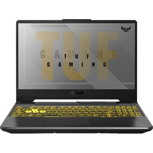"Laptop Gaming ASUS TUF A15 FA506IU-HN212, AMD Ryzen 7-4800H pana la 4.2GHz, 15.6"" Full HD, 8GB, SSD 512GB, NVIDIA GeForce GTX 1660Ti 6GB, Free DOS, gri inchis"