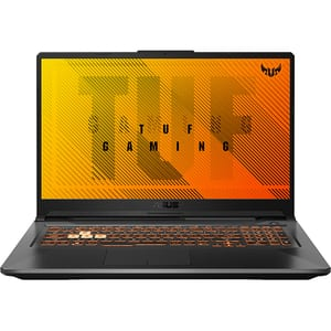 "Laptop Gaming ASUS TUF A17 FX706II-AU038, AMD Ryzen 5 4600H pana la 4.0GHz,17.3"" Full HD, 8GB, SSD 512GB, NVIDIA GeForce GTX 1650Ti 4GB, Free DOS, negru"