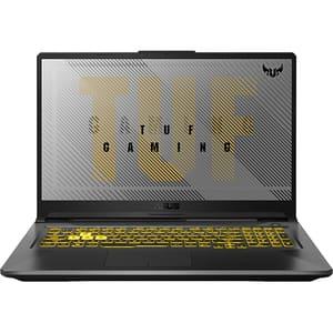 "Laptop Gaming ASUS TUF A17 FA706IU-H7101, AMD Ryzen 7 4800H pana la 4.2GHz, 17.3"" Full HD, 16GB, SSD 1TB, NVIDIA GeForce GTX 1660Ti 6GB, Free DOS, gri inchis"