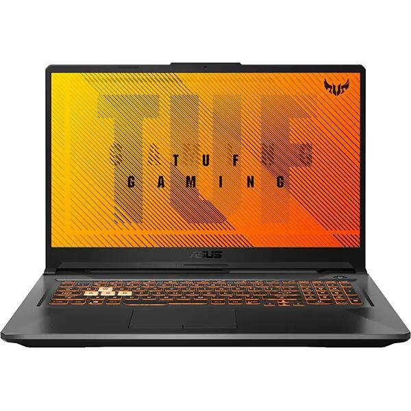 "Laptop Gaming ASUS TUF A17 FA706IH-H7039, AMD Ryzen 7 4800H pana la 4.2GHz, 17.3"" Full HD, 8GB, SSD 512GB, NVIDIA GeForce GTX 1650 4GB, Free DOS, negru"