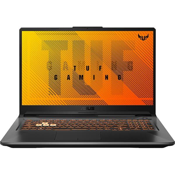 "Laptop Gaming ASUS TUF A17 FA706II-AU096, AMD Ryzen 5-4600H pana la 4.0GHz, 17.3"" Full HD, 8GB, SSD 512GB, NVIDIA GeForce GTX 1650Ti 4GB, Free DOS, negru"