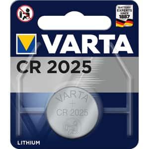 Baterie Litiu CR2025 VARTA, 3V