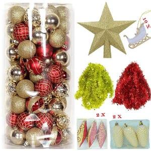Set 126 ornamente brad BRAZIDELUX Standard