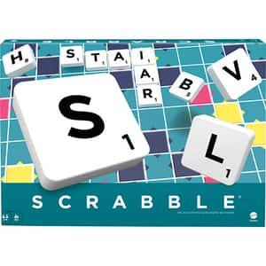 Joc de societate MATTEL Scrabble Original MTY9622, 8 ani+, 2 - 4 jucatori