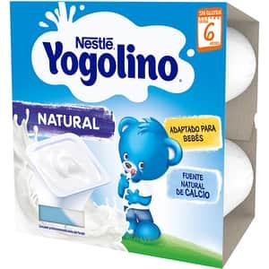 Gustare cu lapte NESTLE Yogolino natural 12404119, 6 luni+, 4 x 100g