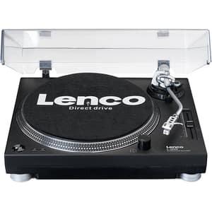 Pick-up LENCO L-3809BK, Stereo, USB, negru