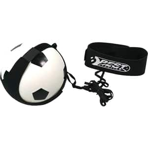 Set antrenament fotbal BEST SPORTING Shooty 10210, L 8 m, alb-negru