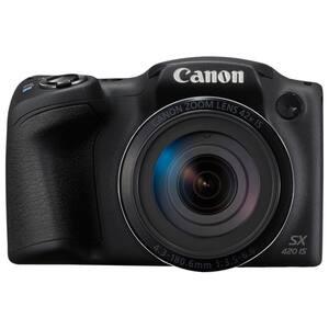 Camera foto digitala CANON PowerShot SX420 IS, 20 MP, Wi-Fi, negru