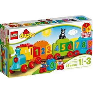 LEGO Duplo: Trenul cu numere 10847, 1.5 - 3 ani, 23 piese