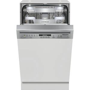 Masina de spalat vase semi-incorporabila MIELE G 5840 SCI, 9 seturi, 12 programe, Clasa A+++, argintiu