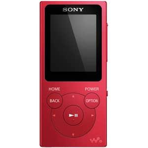 MP3 Player SONY NWE394LR, 8GB, rosu