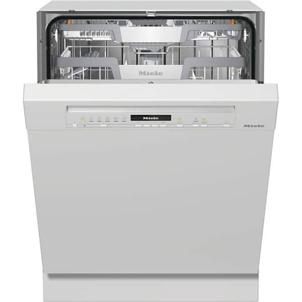 Masina de spalat vase semi-incorporabila MIELE G 7100 SCI BRWS, 14 seturi, 8 programe, Clasa A+++, alb