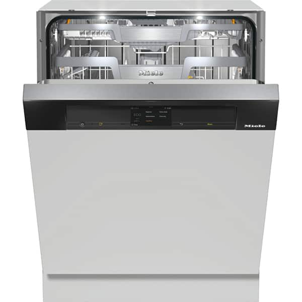 Masina de spalat vase semi-incorporabila MIELE G 7910 SCI OBSW, 14 seturi, 10 programe, Clasa A+++, negru
