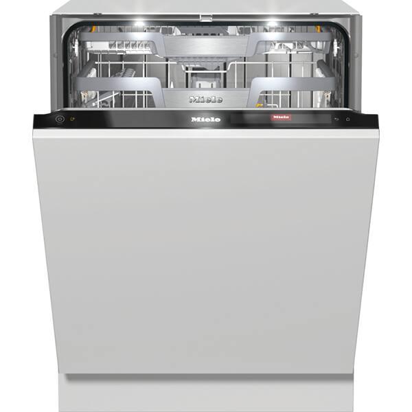Masina de spalat vase incorporabila MIELE G 7960 SCVI, 14 seturi, 10 programe, Clasa A+++, Negru