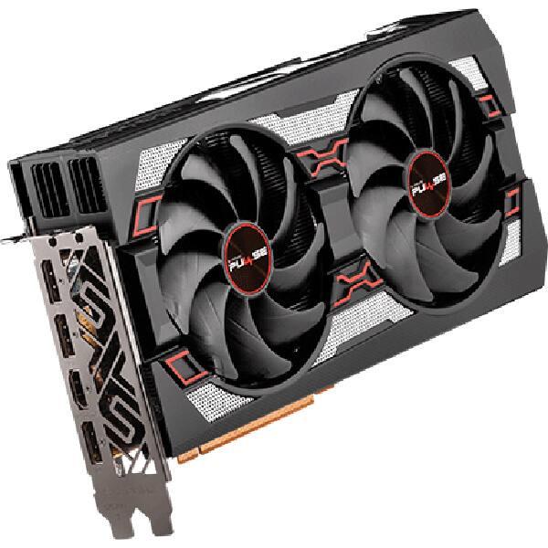 Placa video SAPPHIRE AMD Radeon RX 5700XT Pulse, 8GB GDDR6, 256bit, 11293-01-20G