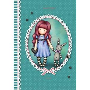 Set 5 notebook SANTORO Gorjuss, dictando, A5, 96 file, legatura capsata, diverse modele