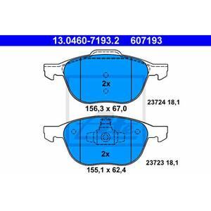 Placute frana fata ATE 13046071932, Ford