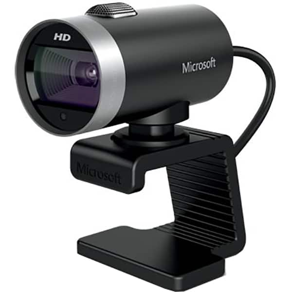 Camera Web MICROSOFT LifeCam Cinema 6CH-00002, HD 1280 x 720, argintiu-negru