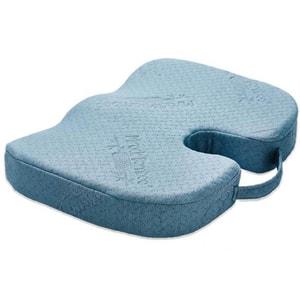 Perna confort pentru sezut MEDIASHOP Miracle Bamboo M14487, albastru