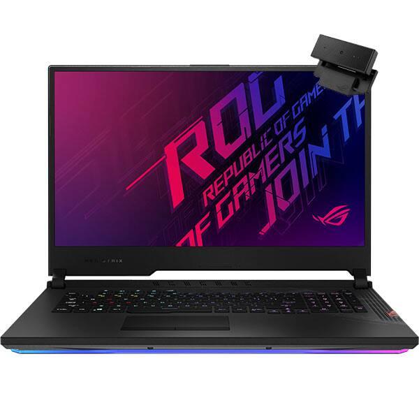 "Laptop Gaming ASUS ROG Strix Scar 17 G732LXS-HG074, Intel Core i9-10980HK pana la 5.3GHz, 17.3"" Full HD, 32GB, SSD 1TB, NVIDIAGeForceRTX2080Super 8GB, Free DOS, negru"