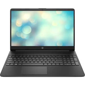 "Laptop HP 15s-fq1015nq, Intel Core i7-1065G7 pana la 3.9GHz, 15.6"" Full HD, 8GB, SSD 512GB, Intel Iris Plus Graphics, Free DOS, negru"