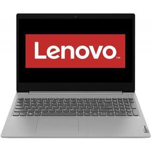 "Laptop LENOVO IdeaPad 3 15IML05, Intel Celeron 5205U 2.9GHz, 15.6"" Full HD, 4GB, SSD 128GB, Intel UHD Graphics, Free DOS, gri"