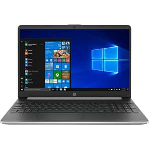 "Laptop HP 15s-fq1027nq, Intel Core i5-1035G1 pana la 3.6GHz, 15.6"" Full HD, 8GB, SSD 256GB, Intel UHD Graphics, Windows 10 Home S, argintiu"