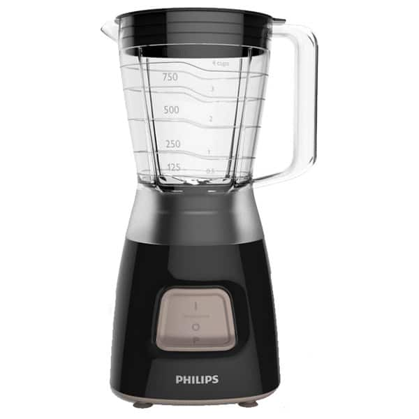 Blender PHILIPS Daily Collection HR2052/90, 1.25l, 450W, 1 treapta viteza, negru