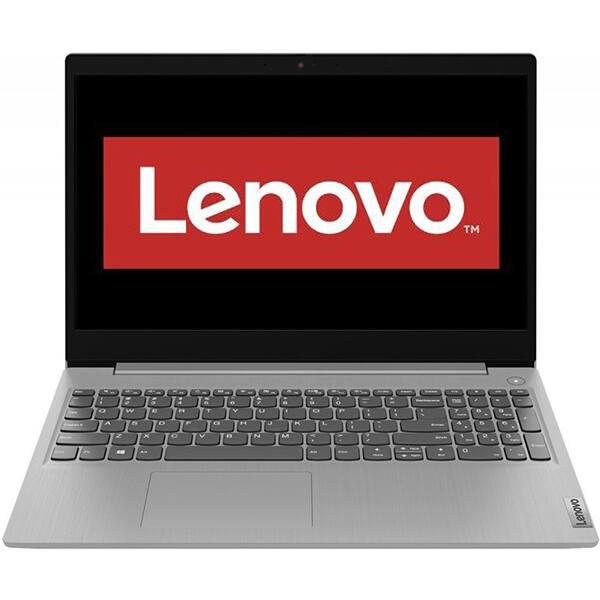 "Laptop LENOVO IdeaPad 3 15ADA05, AMD Ryzen 3-3250U pana la 3.5GHz, 15.6"" Full HD, 4GB, SSD 256GB, AMD Radeon Graphics, Free DOS, gri"