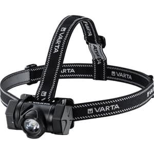 Lanterna LED frontala VARTA Indestructible H20 Pro, 350 lumeni, 3xAAA, negru