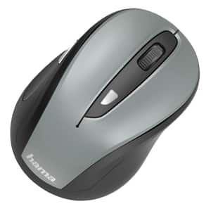 Mouse Wireless HAMA MW-400, 1600 dpi, gri