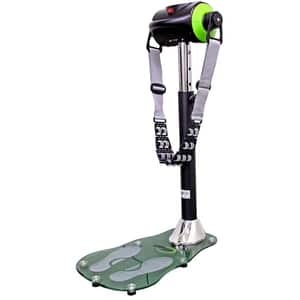 Aparat vibromasaj DHS 5302, 5 trepte, digital, gri-verde