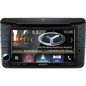 "Media receiver auto KENWOOD DNX518VDABS, 7"" Touch, 4 x 50W, Bluetooth, USB, GPS"