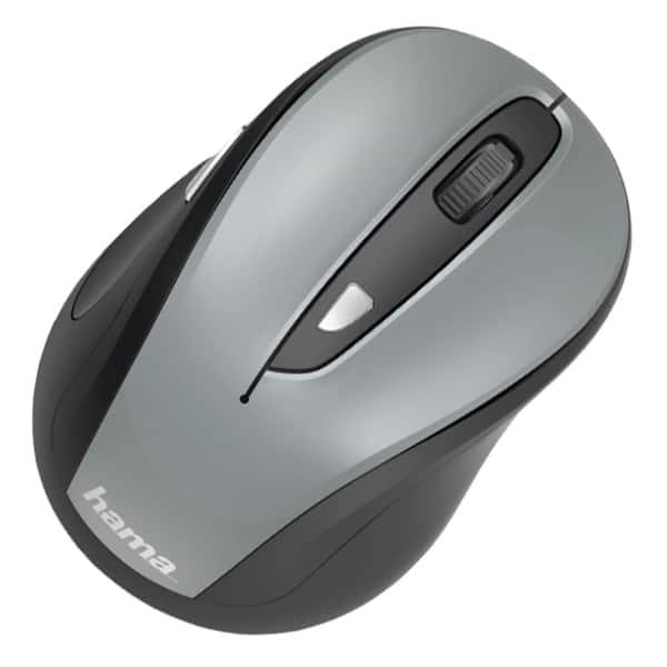 Mouse Wireless HAMA MW-400, 1600 dpi, gri