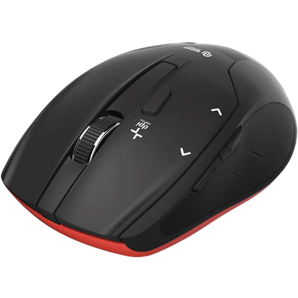 Mouse Wireless HAMA Milano, 2400 dpi, negru