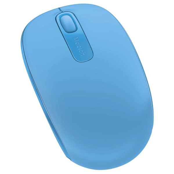 Mouse Wireless MICROSOFT Mobile 1850, 1000 dpi, albastru