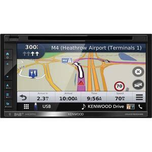 "Player multimedia auto KENWOOD DNX5190DABS, 6.8"", 4 x 50W, Bluetooth, navigatie Garmin"