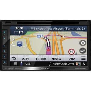 "Media receiver auto KENWOOD DNR3190BTS, 6.2"" Touch, 4 x 50W, Bluetooth, USB, GPS"